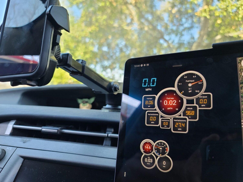 Toyota Prius OBDLink Android App