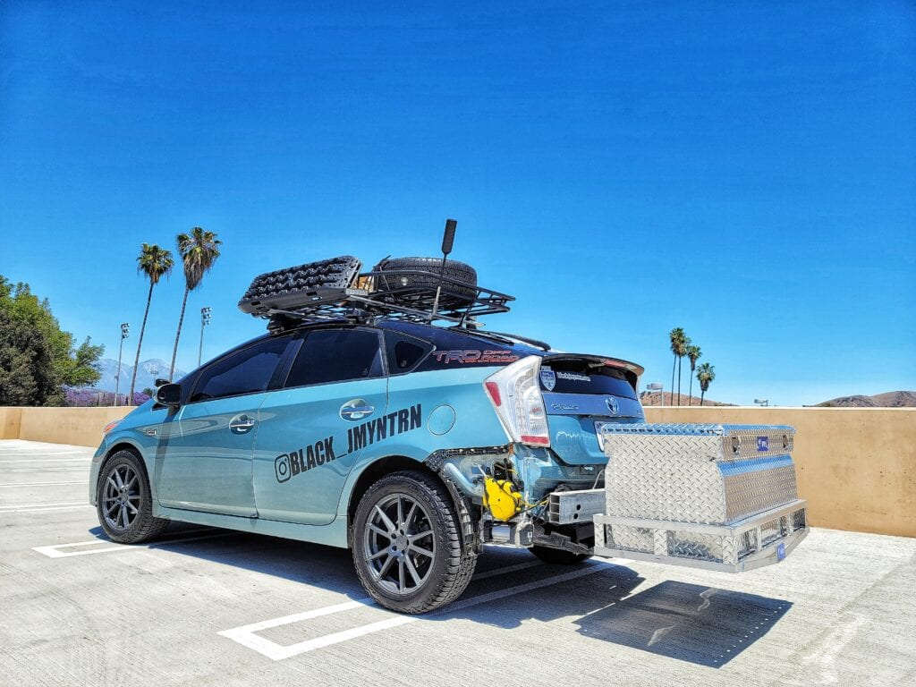 Toyota Prius LiftKit OffRoad All Terrain Tires Heavy Duty Springs