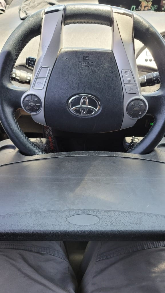 Car Steering Wheel Tray for Toyota Prius