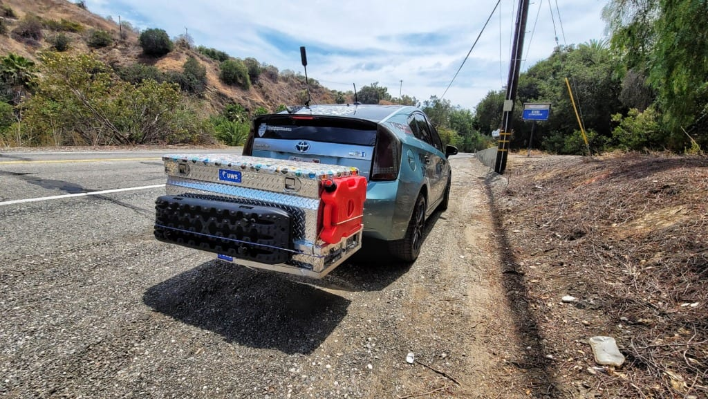 Toyota Prius Lift Kit OffRoad with new STELLAR V LED Tail Lights