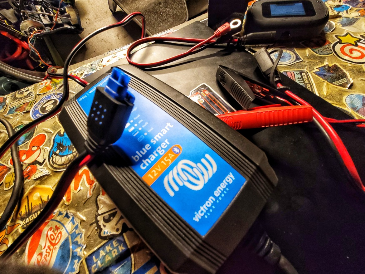 the best Battery Charger Tender Victron SMART Charger