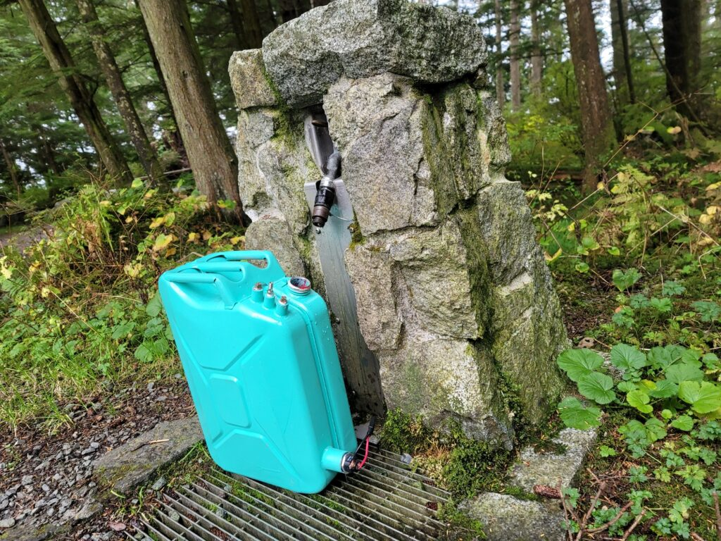 My Running Hot Water Jerry Can